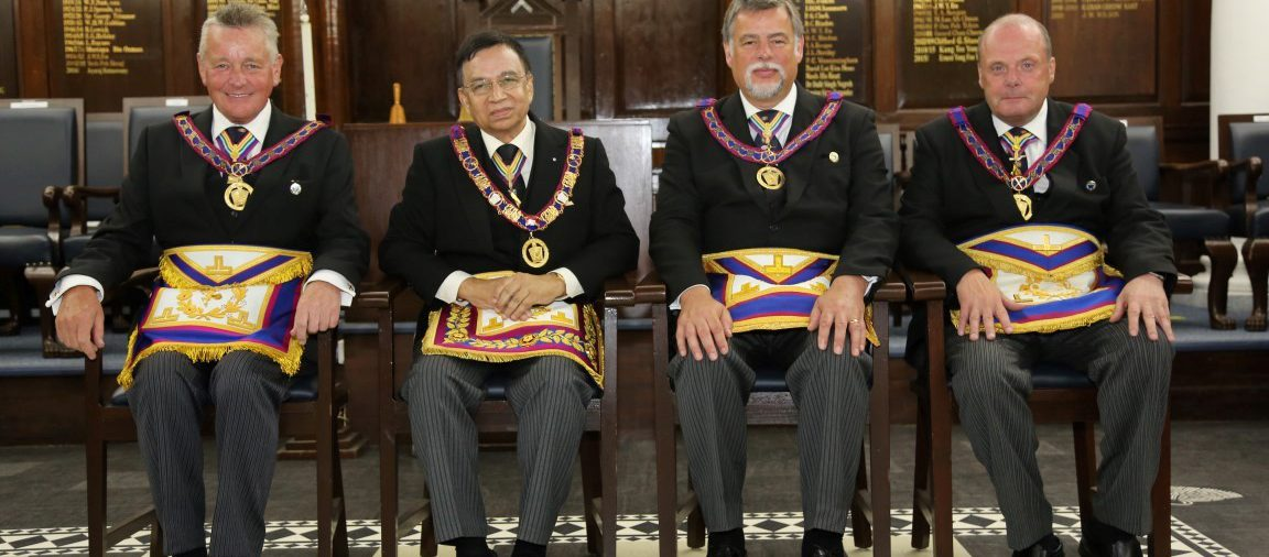 A Plethora of London APGM's and other MMM visit Annual District Grand Grand Lodge of MMM of Singapore