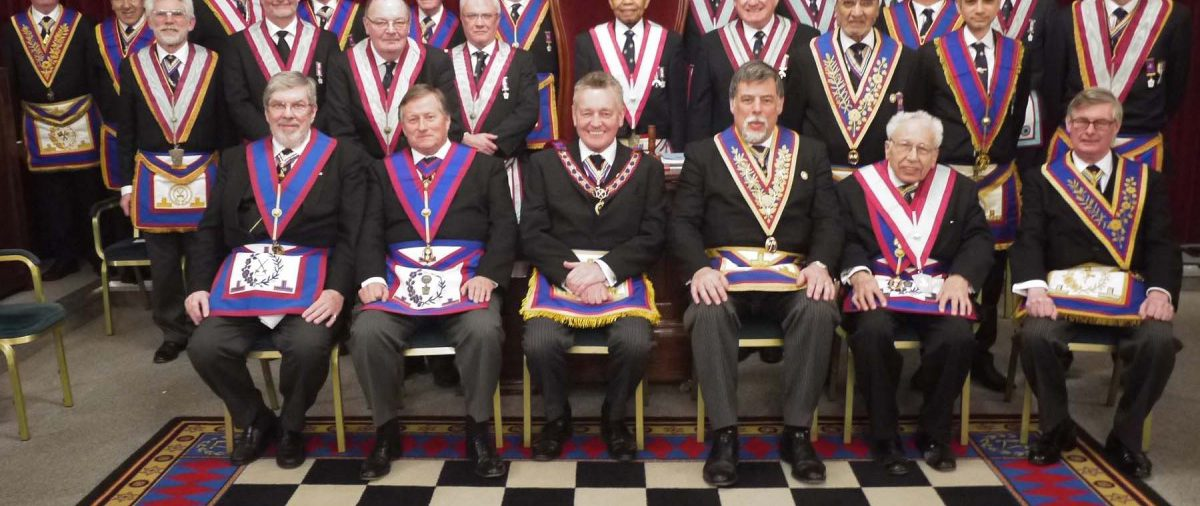 W.Bro. Henry Hobson APGM Visits St Marks Lodge No 1 16th February 2016