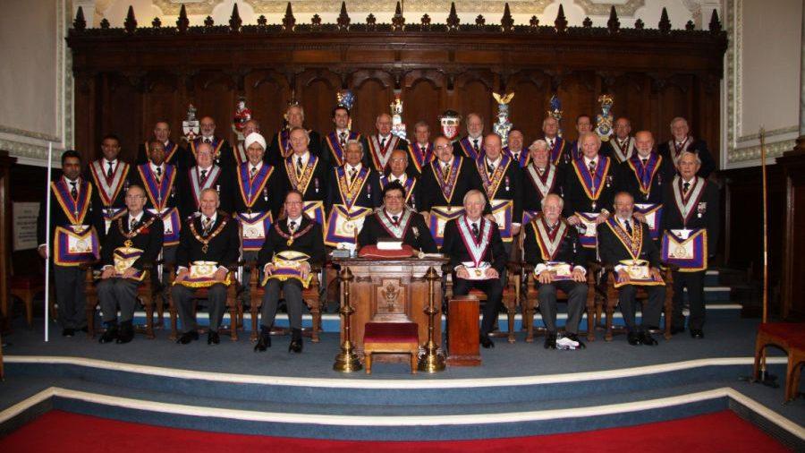 Athlumney Menatschim Lodge No 224 Delegation 12th February 2014