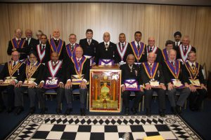 MAHAJAN Lodge No 1856 Delegation Monday 10th March 2014