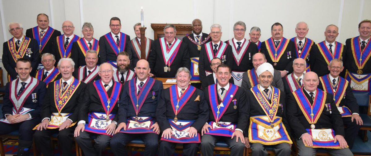 APGM Jerry Gangadeen and Delegation visit to Golden Square Lodge 17th February 2016