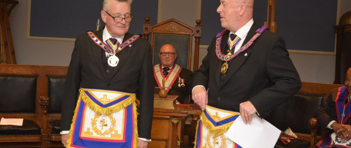 Two APGMs + One Lodge + 12 interested visitors + One Mark Awareness evening = Success at Minchenden Oak