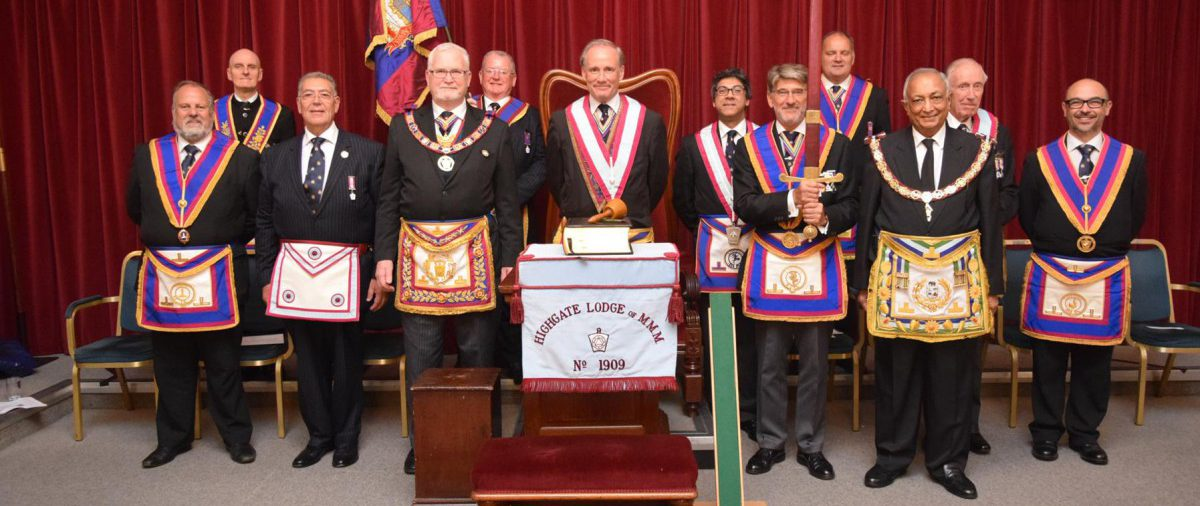 PGM David Ashbolt & Delegation visit Highgate Lodge for a very special occasion. 25 June 16