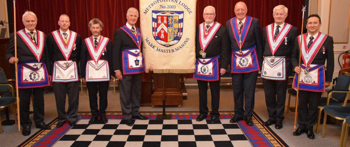 Double Celebration at Metropolitan Lodge 2003 on 28th June