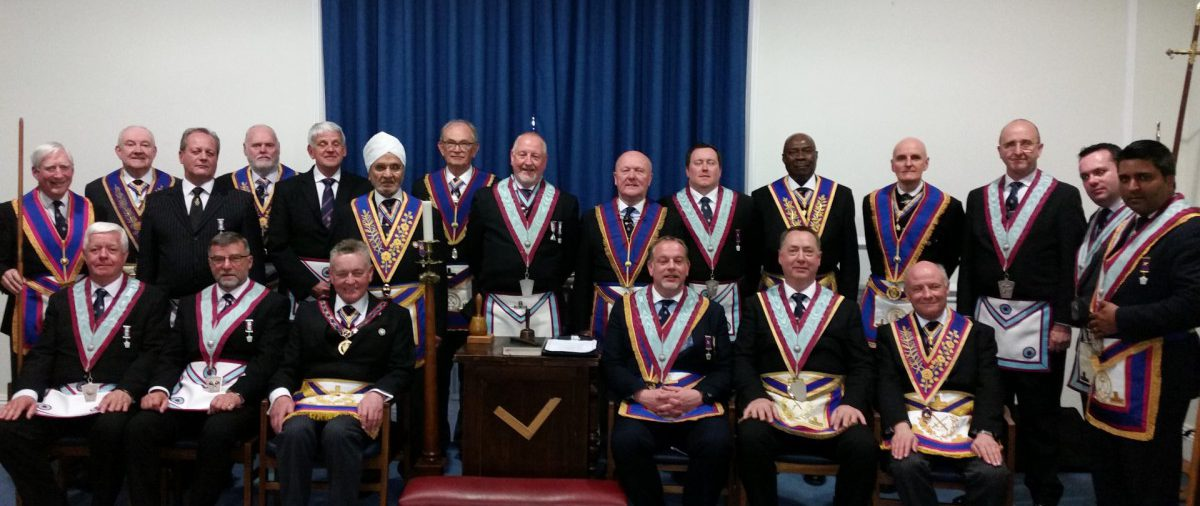 Another warm reception for APGM Henry Hobson and his Delegation on their visit to Irenic Lodge on 22 April 2016