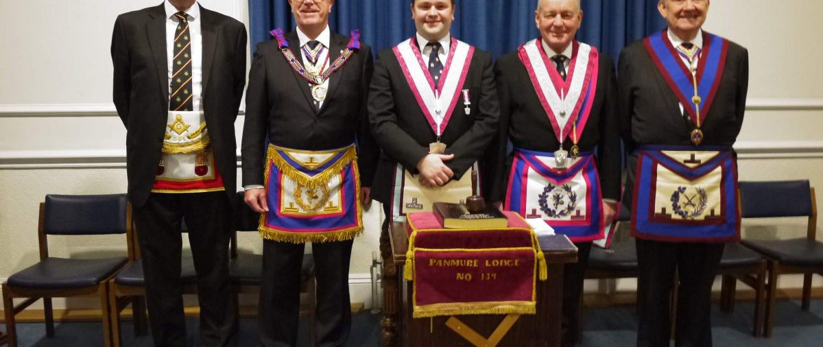 Members of The London Mark Provincial Grand Stewards Lodge and a Brother from another Constitution give assistance when called on.