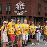 £30,000.00 raised by the London Bridges Walk 27th July 2014