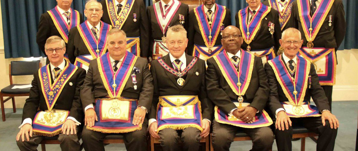 W Bro Henry Hobson and his Delegation visit to University of London Lodge on 4th May 2016