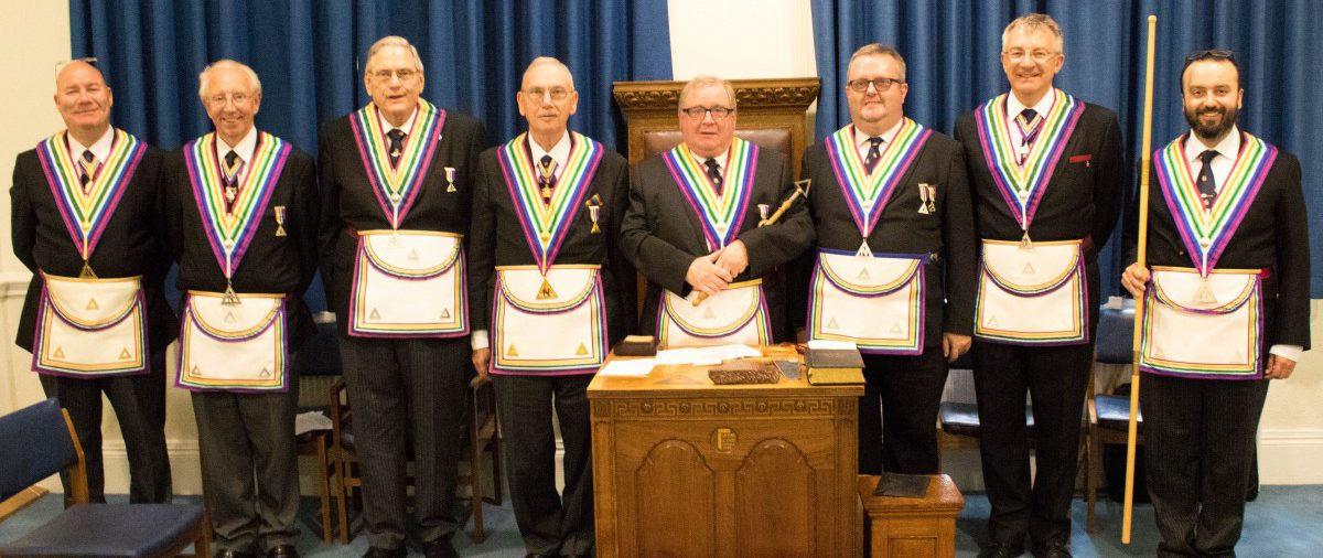 Visit to Drury Lane RAM Lodge 1228 by W.Bro David James and his team on 26th May 2016