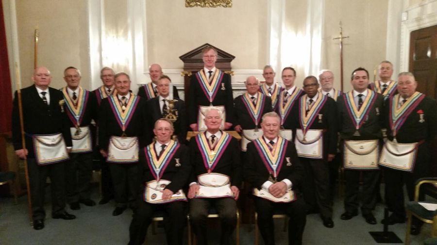 Connaught Army and Navy RAM's visit by VW Bro Keith Florence, APGM on Tuesday, 17th February