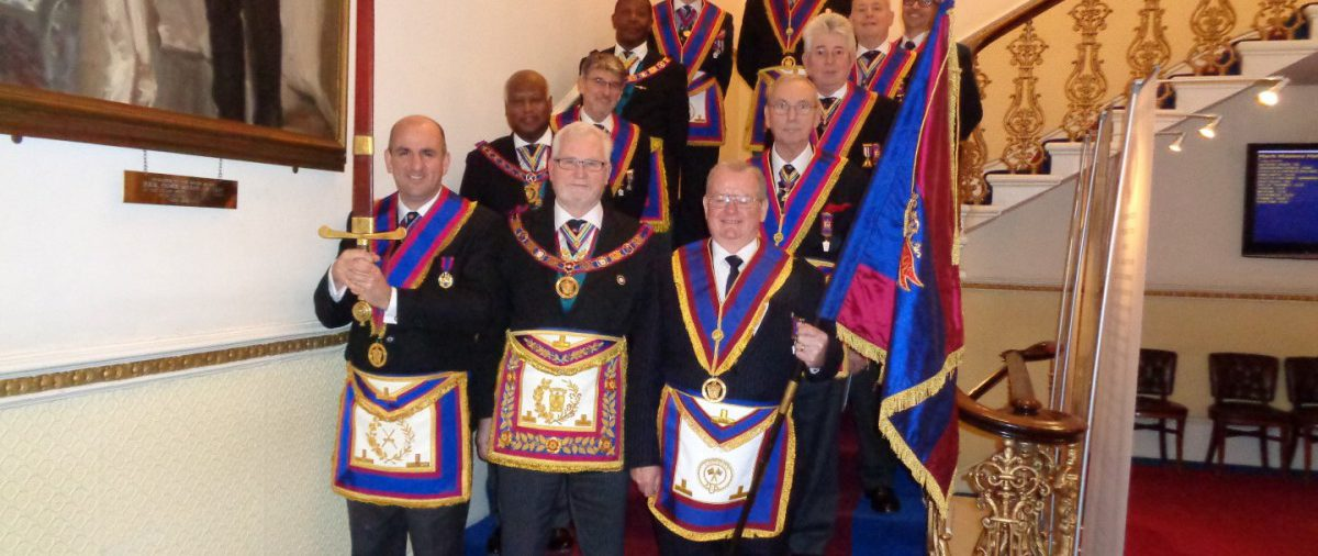 RW Bro David Ashbolt, PGM and a delegation of Provincial Officers attend Eclectic & Empress Britannic Lodge 17 March 2016
