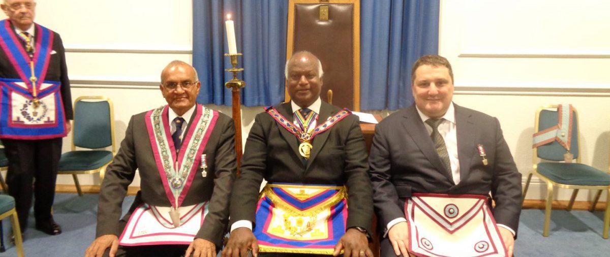 APGM Jerry Gangadeen visits Halcyon Lodge 26 May 16