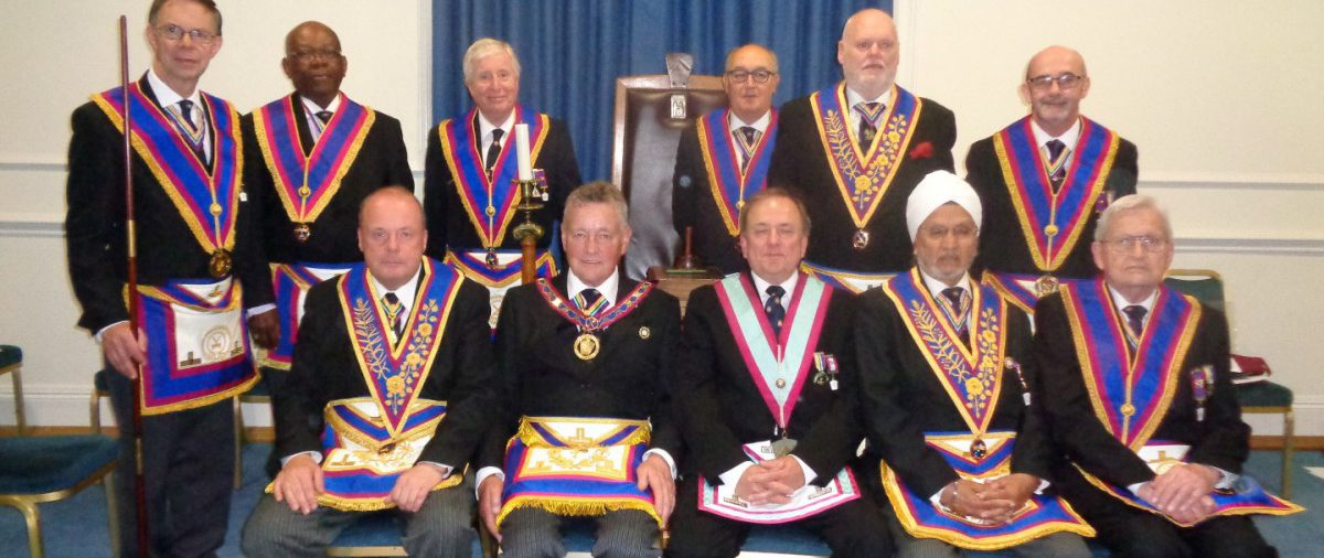 APGM Henry Hobson and Delegation at Polytechnic Lodge 21 June 2016