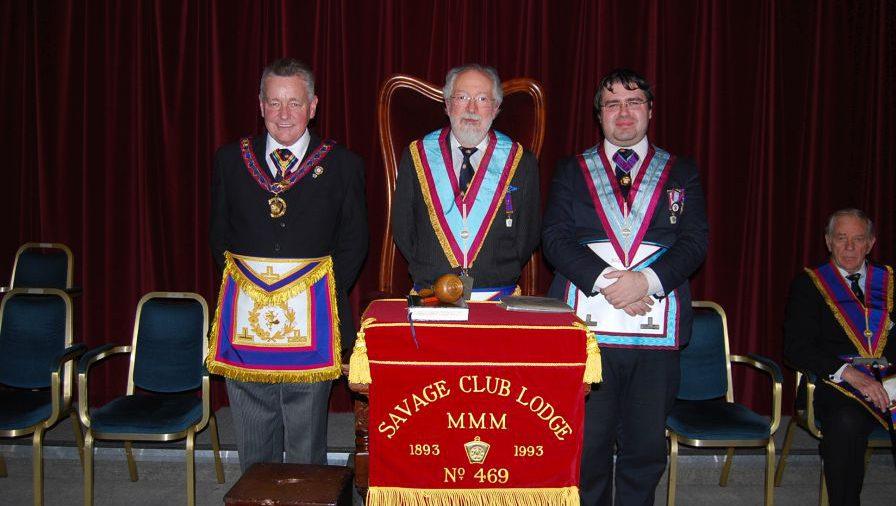 APGM Henry Hobson and Delegation visit to Savage Club Lodge 9 December 2015