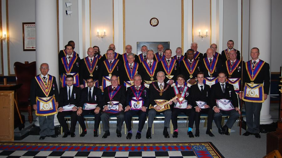 Full Team Visit to Lodge of Clemency 1953 on 10th January 2015