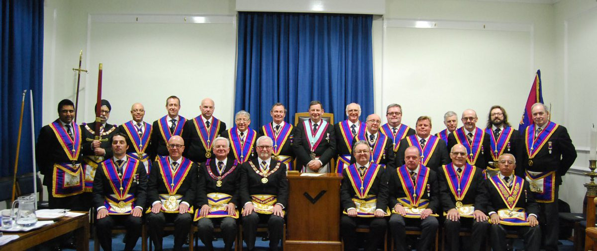 Full Team Visit to Piscator. 24th January 2015. Provincial Grand Master, RW Bro David Ashbolt gets Hooked