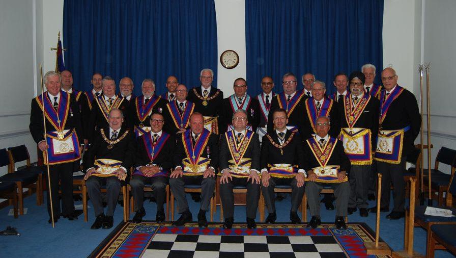 PGM David Ashbolt and a large Delegation visit Old Kent, TI. A very memorable evening.