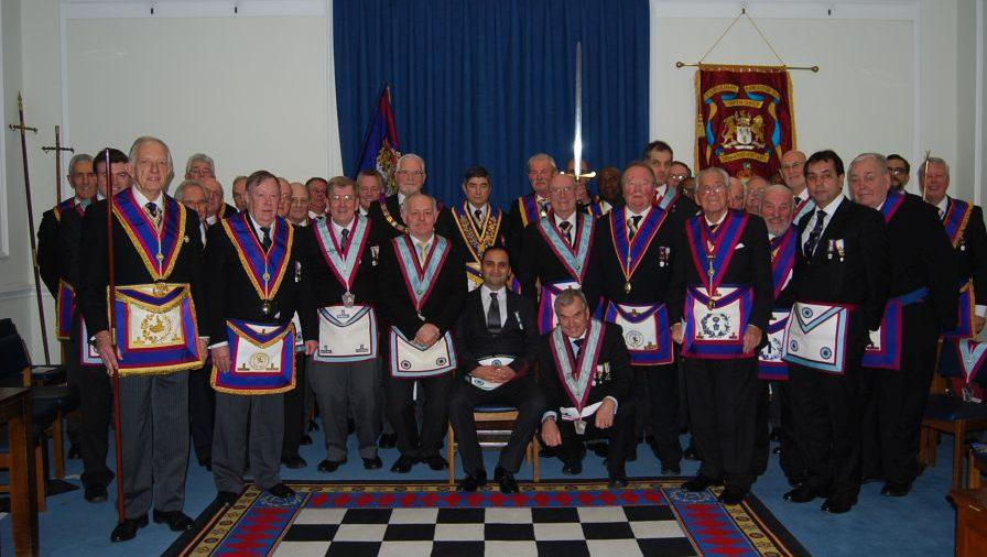 Provincial Grand Master visits Carnarvon No 7 on 26 November 2015