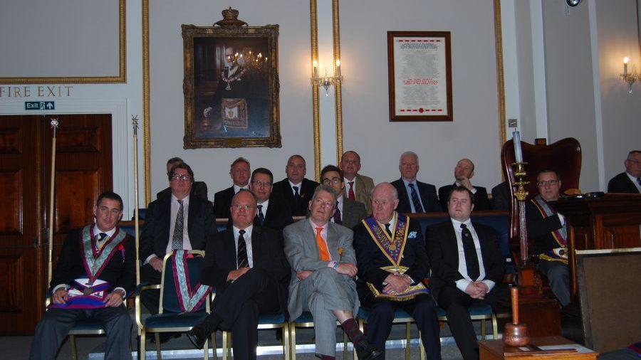 Another highly successful Mark Awareness Evening at Mark Masons' Hall, 29th April 2014