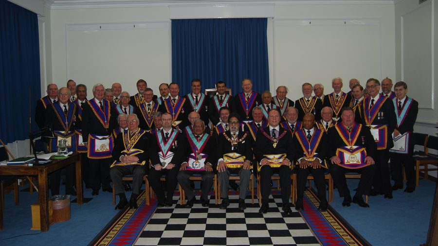 APGM Paul Muston visits Britannic Lodge No. 443 12th December 2014
