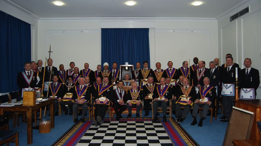 W Bro Tim MacAndrews, Provincial Grand Junior Warden,  visits Royal Naval Lodge on Thursday 15th January 2015: A Delegation full of surprises.