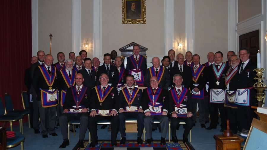 An Incredible Evening at Hibernia 431 with DPGM Bill Divall and the Provincial Grand Stewards' Demonstration Team