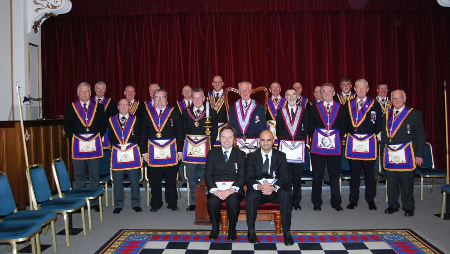 A Very Happy Occasion when W Bro Henry Hobson, APGM, visited Public Schools 791 on Wednesday, 11th February 2015