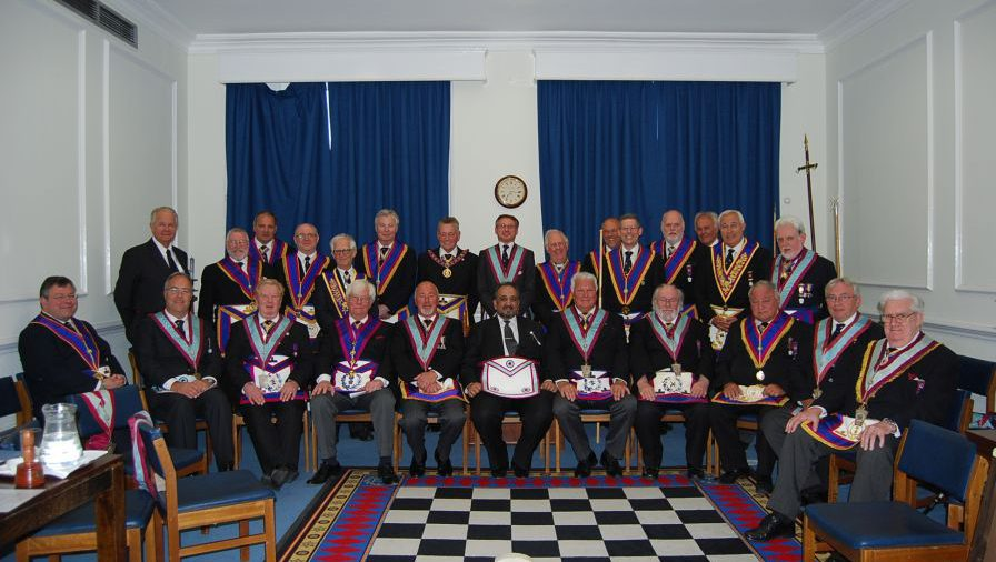 APGM Henry Hobson's visit to Southwark Lodge of MMM No: 22 on Tuesday 12th May 2015