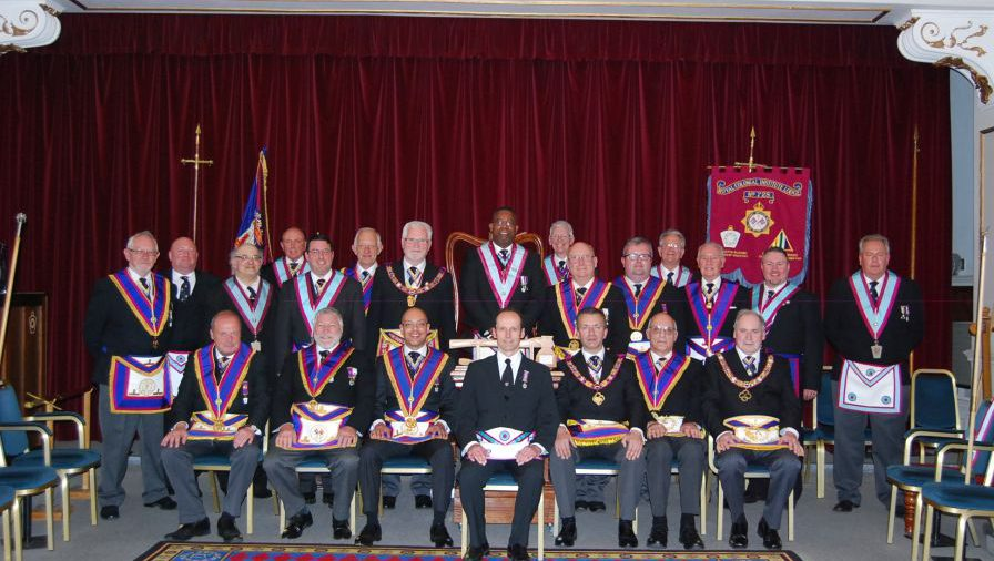 Full Team Visit by PGM RW Bro David Ashbolt plus Delegation Members to Royal Colonial Institute Lodge