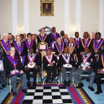 ProvGSW Shane Whelan plus Delegation on Official Visit to London West Africa Lodge 1457 on Friday, 12th September