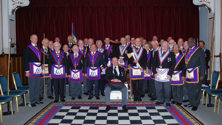 A Full Team Visit to St John's Wood Lodge on Wednesday 27th May 2015, by the PGM, RW Bro David Ashbolt and a very happy Delegation enjoyed a very Friendly Welcome.