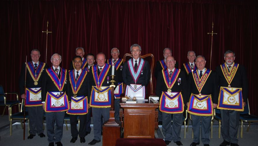 Provincial Grand Junior Warden - Tim MacAndrew - on his last official visit of the year, spends it at Italia Lodge and enjoys a great evening's entertainment.