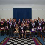 APGM W.Bro Henry Hobson and his Delegation visit Keystone 107. A very memorable occasion.
