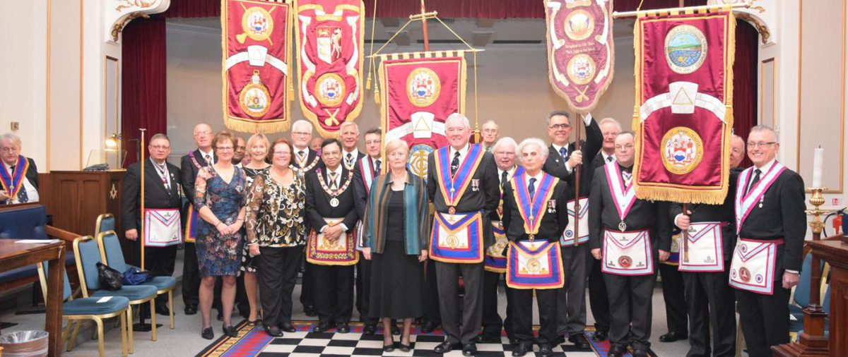 Bon Accord Host meeting of the Banner Foundation Lodges at Mark Masons Hall 30th January 2016 (Click here)