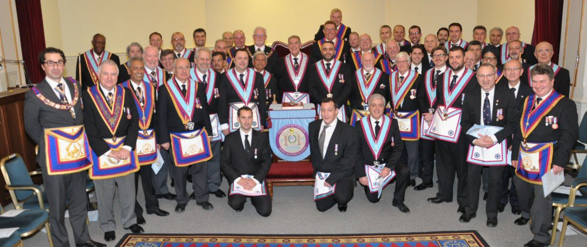 Aegean Lodge of MMM No 1978 Consecration 7th December 2016