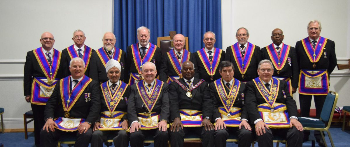 APGM VW Bro J D Gangadeen and his delegates visiting United Service Lodge 489 on 18th May 2016