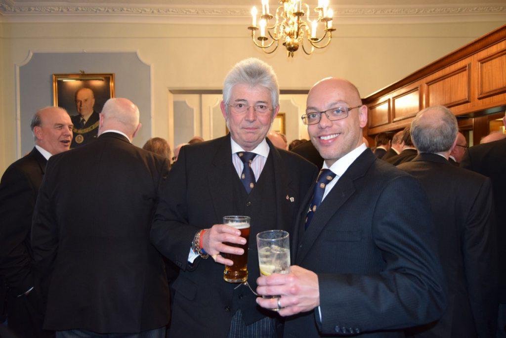 W Bro Clifford Sturt ProvGSW and his delegation visits Bon