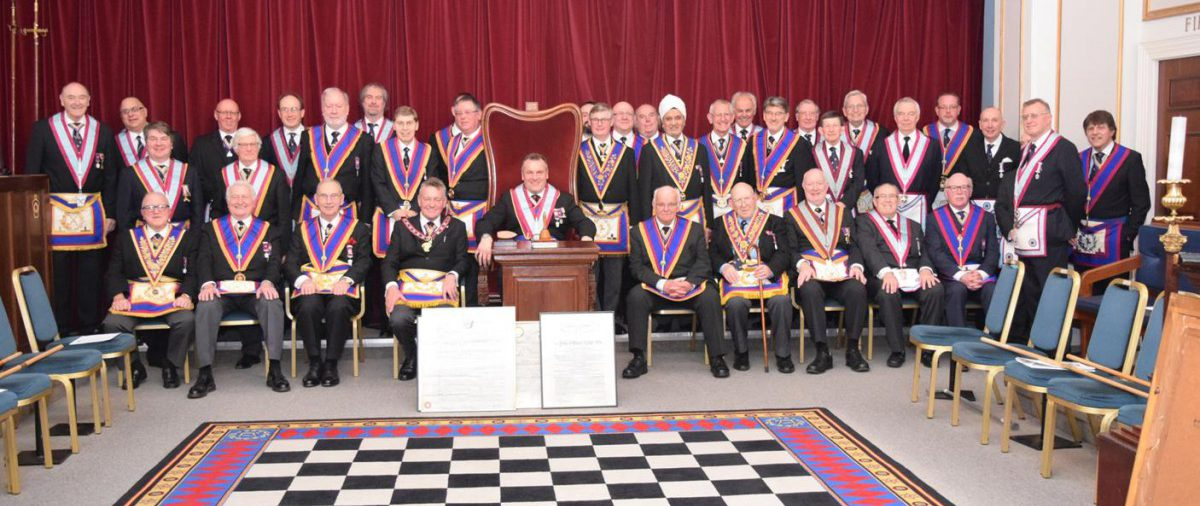 APGM Henry Hobson and Delegation visit Prince of Wales Lodge No. 4 Monday 1st February 2016