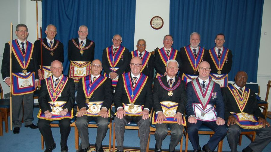 PGM RW Bro David Ashbolt and Full Team Visit to Composite Lodge on 23rd April 2015