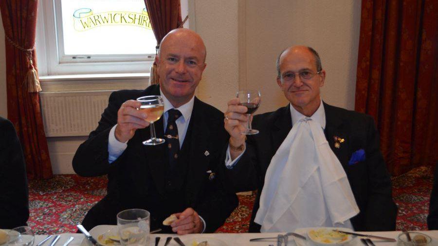 APGM Tom Quinn visits New Era Lodge 17th October 2015