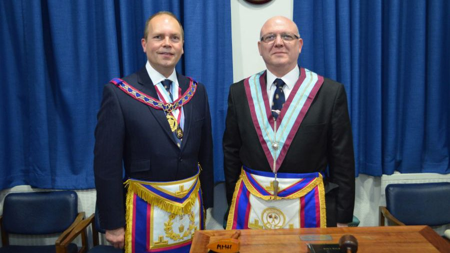 APGM Paul Muston visits Alliance and Memorial on 3rd October