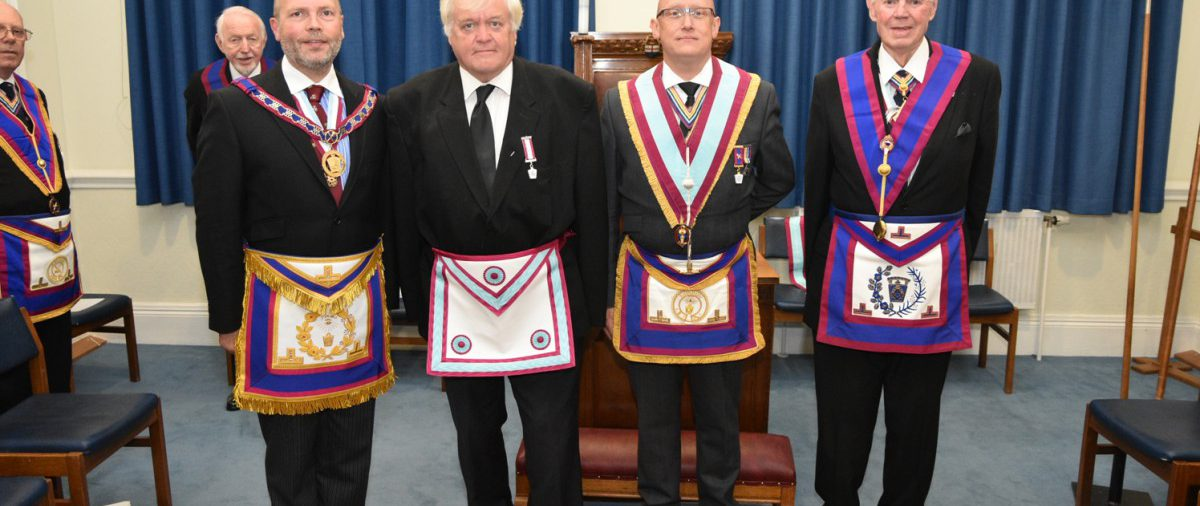 VW. Bro. Paul Muston and a team of Provincial Grand officers visit Orchestral Lodge 13th June 2016