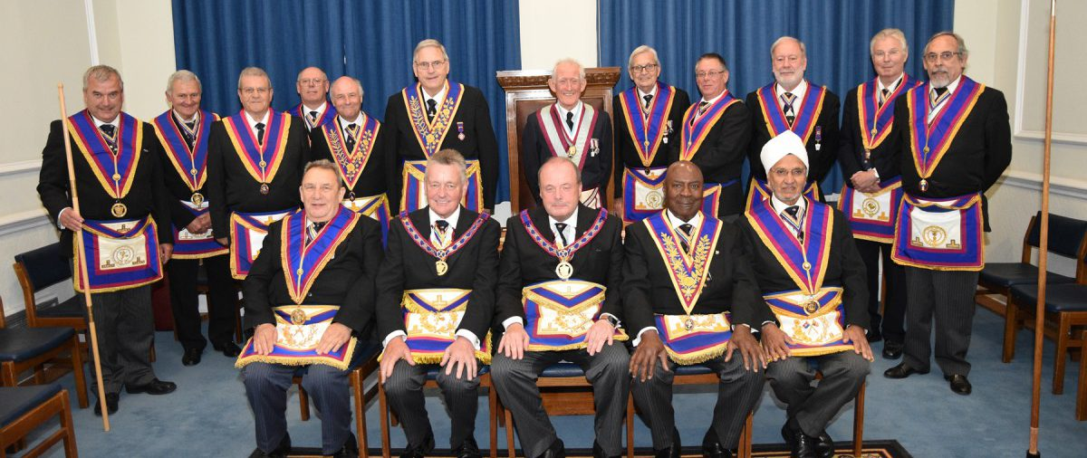 W. Bro. Tim MacAndrews pays his first official visit to Composite Lodge No 802