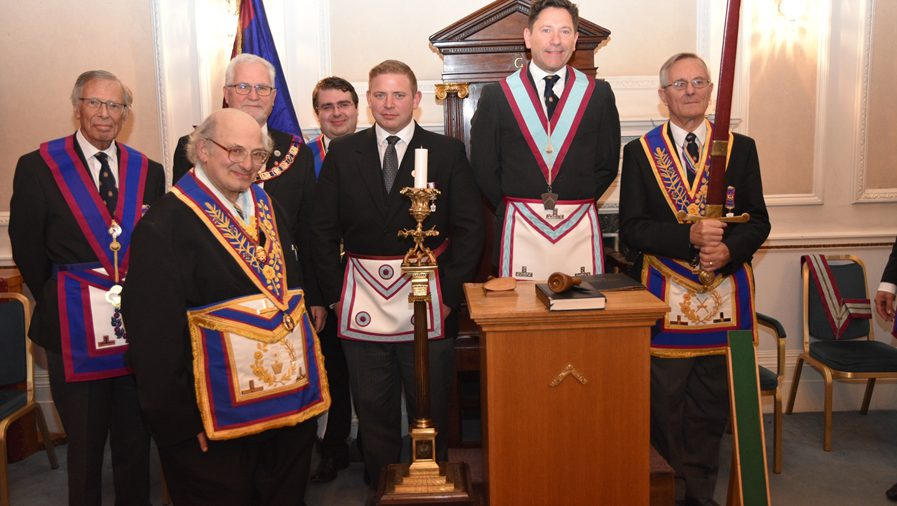 PGM David Ashbolt and a team of Provincial Grand officers visit Egerton of Tatton on the 3rd of November.