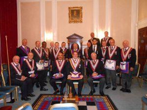 ProvGSW Shane Whelan visits Barnet Mark Well Lodge No. 897
