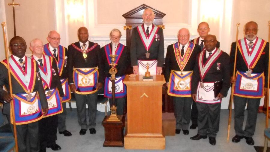 Horus Lodge No. 633 Welcome APGM V. W. Bro. Jerry Gangadeen PGMO