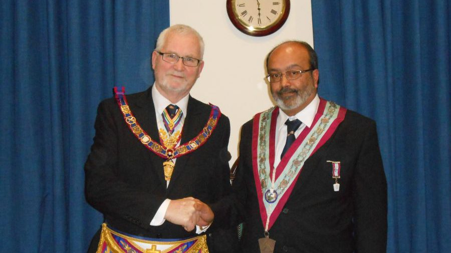 Full Team Visit to Halcyon Lodge No. 1118