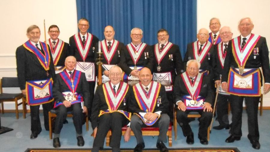 W. Bro. Henry Hobson APGM visits University of London Lodge No. 1389 on 11.12.2014
