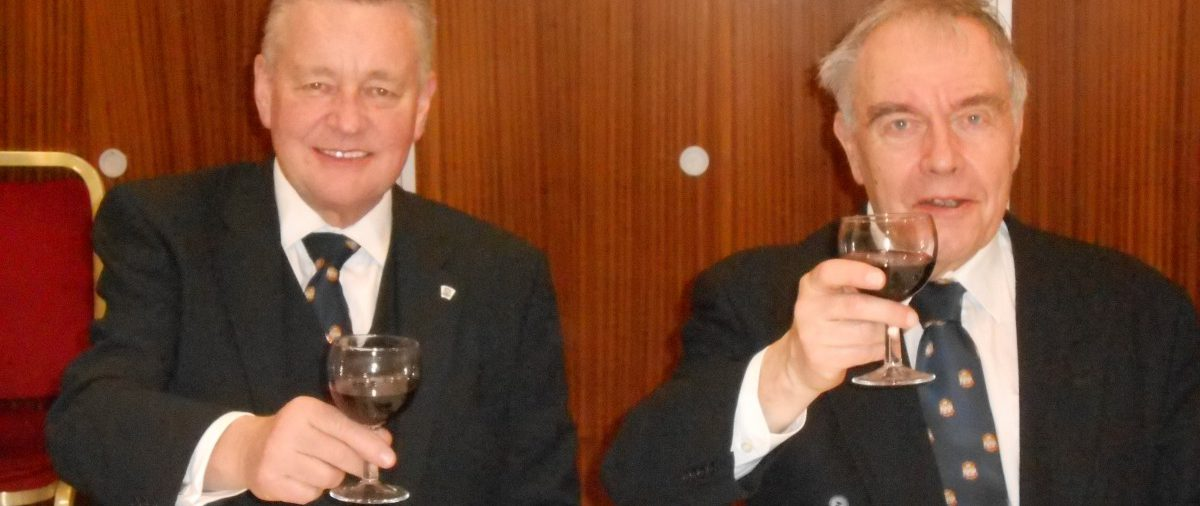 W. Bro. Henry Hobson's visit to King Solomon Lodge No. 385 on 27.01.2015