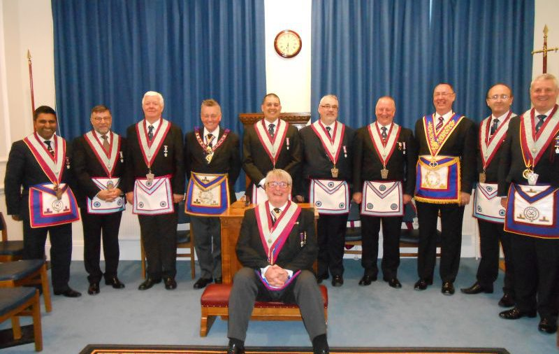 Irenic Lodge No. 899 Welcome A.P.G.M. W. Bro. Henry Hobson 15.04.2015